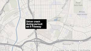 100 Truck Driving Schools In Los Angeles Driver Of Stolen Box Truck In Custody After Crashing Into Barrier On