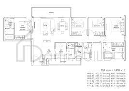 104 Tree House Floor Plan 4 Bedroom Type C1