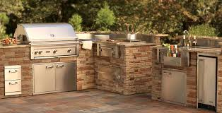 Outdoor Kitchen Grills at Home and Interior Design Ideas