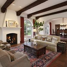 British Colonial Living Room Home Designs Idea