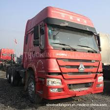 100 Used Tow Trucks Hot Item HOWO 64 Tractor Head TruckTractor Truck