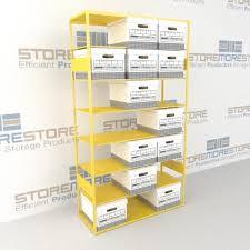 File Box Racks Letter Legal Record Box Storage
