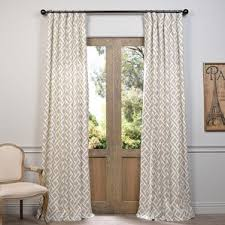 Geometric Pattern Curtains Canada by Curtains U0026 Drapes Birch Lane
