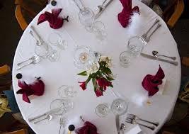 Table Setting At Greenville Inn