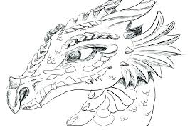 Printable Dragon Coloring Pages Also Dragons For Kids Download