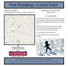 West Seattle Christmas Tree Disposal by Free Shredding Event West Seattle Junction Association