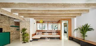 100 Brick Ceiling Globetrotting Entrepreneurs Home In Barcelona Carved Out Of Old