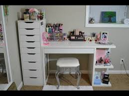 vanity tour and makeup collection youtube