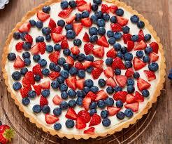 erdbeer blaubeer tarte