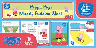 peppa pig muddy puddle pack
