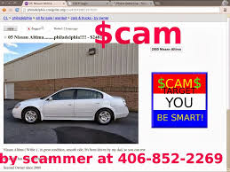 Scam Ads With Email Addresses And Phone Numbers - Posted 02/28/14 ... Craigslist Crapshoot Hooniverse Tri Axle Dump Trucks For Sale By Owner And Truck Accident Pladelphia Cars Best Car Scam List For 102014 Vehicle Scams Google 102617 Auto Cnection Magazine By Issuu Troubleshooters Beware When Buying Online 6abccom Used And 1920 New Update Youtube