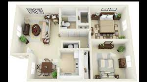 104 Two Bedroom Apartment Design 20 Best 2 S Ideas With Floor Plan 2 S Youtube