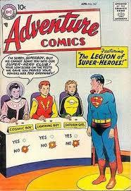Legion Of Super Heroes 1958 Team