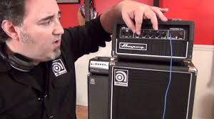 2x10 Bass Cabinet Shootout by Ampeg Micro Cl Stack Bass Head And Cabinet Feature Overview