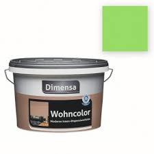 dimensa wohncolor limette