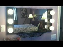 wall mirrors lighted vanity mirror mount reviews led regarding