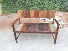 Rustic Wooden Benches Impressive Garden Bench At Inside Brilliant Wood With Back