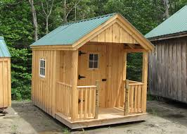 8x12 Storage Shed Kit by Small Cabins Kits Small Cabin Plan Small Cottages Plans