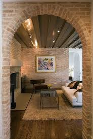 Are Presented In Note Rustic Interior Design Wall With Bricks For A Look Point