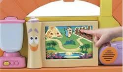 Dora The Explorer Kitchen Set by Dora The Explorer Dora U0027s Talking Kitchen With 5 Recipe Adventure