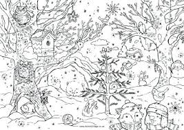 Full Image For Christmas Coloring Pages Pictures Images Free Printable