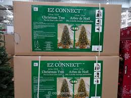 Christmas Tree 75 Ft by Ez Connect 7 5 Ft Pre Lit Led Christmas Tree
