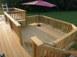 Floor Joist Span Table Deck by Deck Framing Details To Build Your Dream Quinju Com
