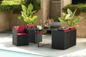Sears Lazy Boy Patio Furniture by La Z Boy Outdoor Demm 5pc Emett 5 Piece Dining Set Sears Outlet
