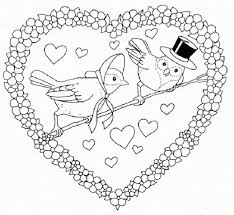 Valentines Day Free Printable Coloring Pages No 79