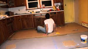 backsplash installing tile floor in kitchen how to install a