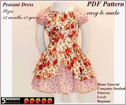 free printable sewing patterns alexandra girls dress sewing