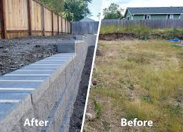 Retaining Wall With Capstones - AJB Landscaping & Fence Outdoor Wonderful Stone Fire Pit Retaing Wall Question About Relandscaping My Backyard Building A Retaing Backyard Design Top Garden Carolbaldwin San Jose Bay Area Contractors How To Build Youtube Walls Ajd Landscaping Coinsville Il Omaha Ideal Renovations Designs 1000 Images About Terraces Planters Villa Landscapes Awesome Backyards Gorgeous In Simple