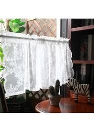 scheibengardine für die küche wohnzimmer bistrogardine weiß