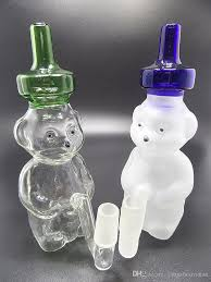 Lava Lamp Bong Cheap by Sell Mini Polar Bear Dab Rig Glass Water Pipe With Ground Male