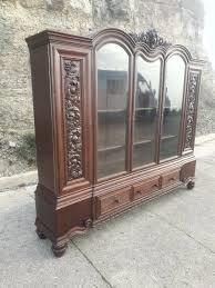 deco bücherschrank schrank antik büro vitrine jugendstil wohnzimmerschrank