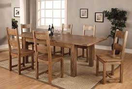 Extendable Wooden Dining Table And Chairs Collection In Popular Of Extending Wood