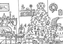 Printable Christmas Coloring Pages Activity Village That Are Hard 565411 For Free 2015