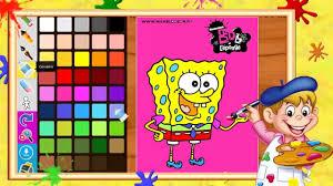 jeux de cuisine spongebob jeux de spongebob coloriage