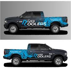 100 Truck Designer Elegant Playful Car Wrap Design For River Coolers By Nader