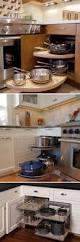Blind Corner Kitchen Cabinet Ideas by Best 25 Corner Cabinet Storage Ideas On Pinterest Ikea Corner