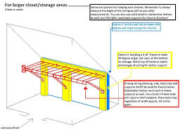 Hanging Drywall On Angled Ceiling by How To Install Shelves In Odd Shaped Spaces The Home Depot Community