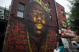 Big Ang Mural Brooklyn by Notorious B I G Brooklyn Street Bard Gets Official City Tribute