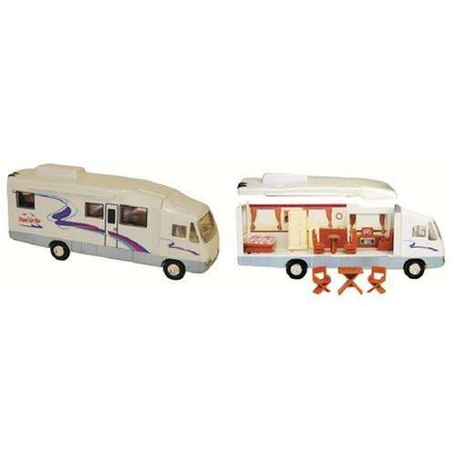 Prime Products Removable Roof and Sides 15-Piece RV Home Camper Toy Model
