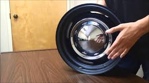 Chevy Oe Steel Wheel, With Multiple Hub Cap Options Youtube ...