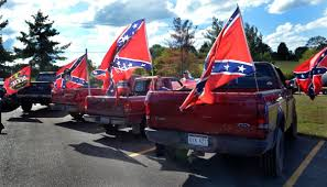 100 Rebel Flag Truck Confederate Flags Fly At Hurricane High School Education