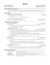 Certified Welding Inspector Resume Examples Templates And Of Resumes
