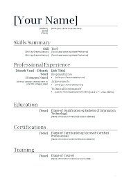 Resume Template For High School Student With No Job Experience Basic Examples Templates Students
