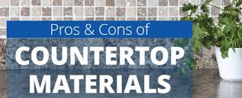 Bathroom Countertop Materials Pros And Cons by How To Choose A Countertop For Your Kitchen Or Bathroom Sears