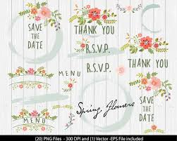 Rustic Clipart Wedding Floral 11