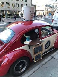 This Guy Runs A Coffee Shop Out Of A Beetle : Mildlyinteresting